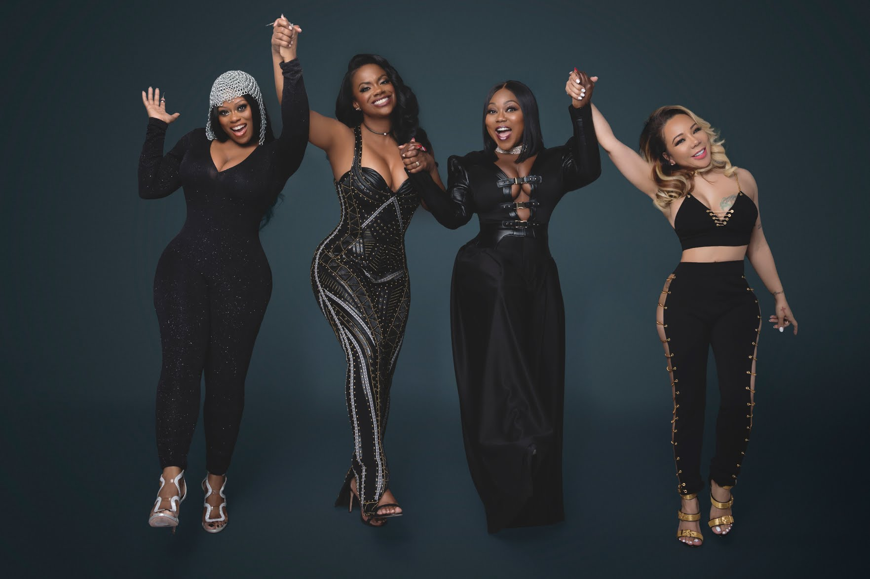 Tiny Harris Shares The Full Version Of The National Anthem Performed By Xscape And Fans Are In Awe