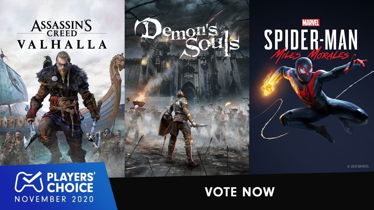 Players' Choice: Vote for November 2020's best new game