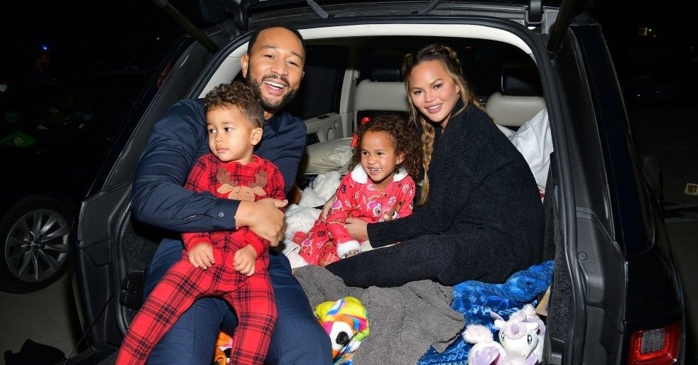 Chrissy Teigen Posted A Hilarious Family Photoshoot Fail Featuring Her Son Miles