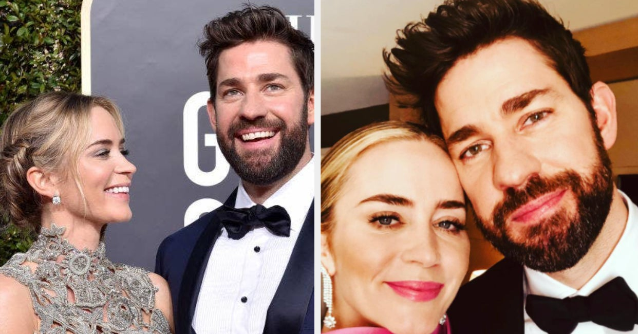 Emily Blunt Spoke About Her Relationship With John Krasinski And Being At Home With Their Kids During The Pandemic