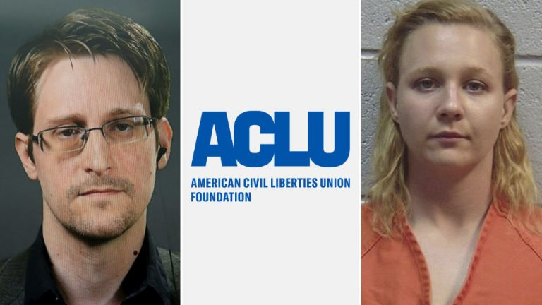 ACLU slammed as 'SEXIST' for saying Trump should pardon Edward Snowden & not mentioning Reality Winner