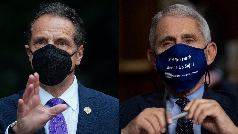 'He's already got an Emmy for acting!': Cuomo roasted for comparing himself & Fauci to 'modern day De Niro and Pacino'